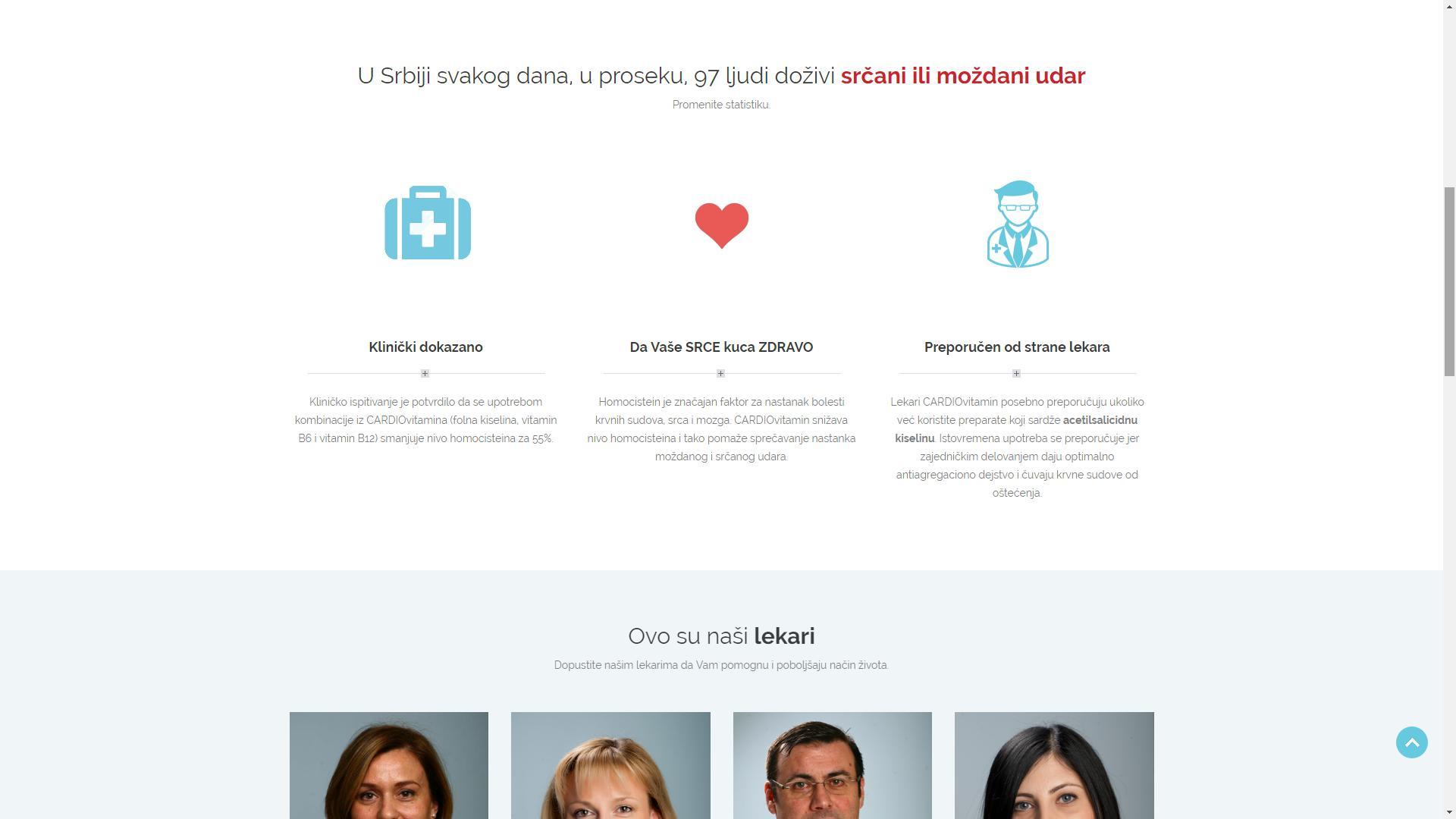 sKa portfolio sajtovi - Cardiovitamin 4