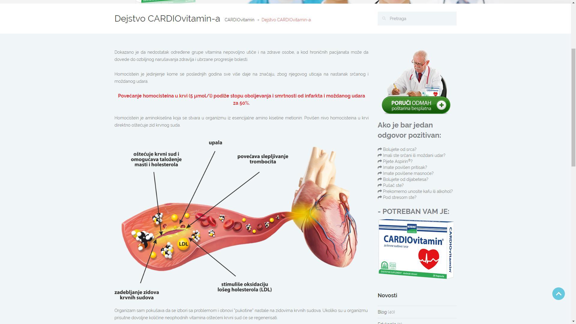 sKa portfolio sajtovi - Cardiovitamin 6