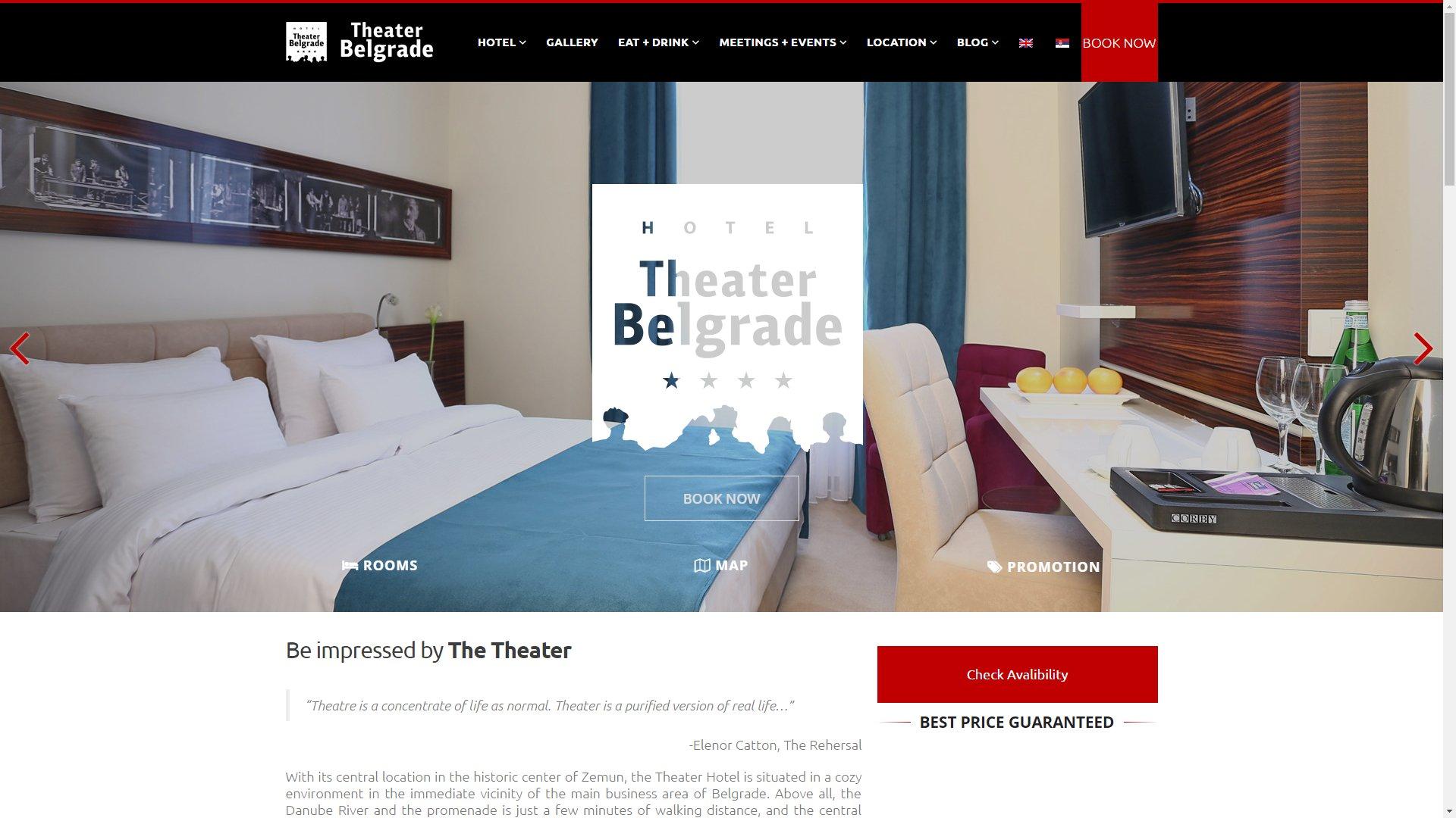Hotel Theater Belgrade - ss1