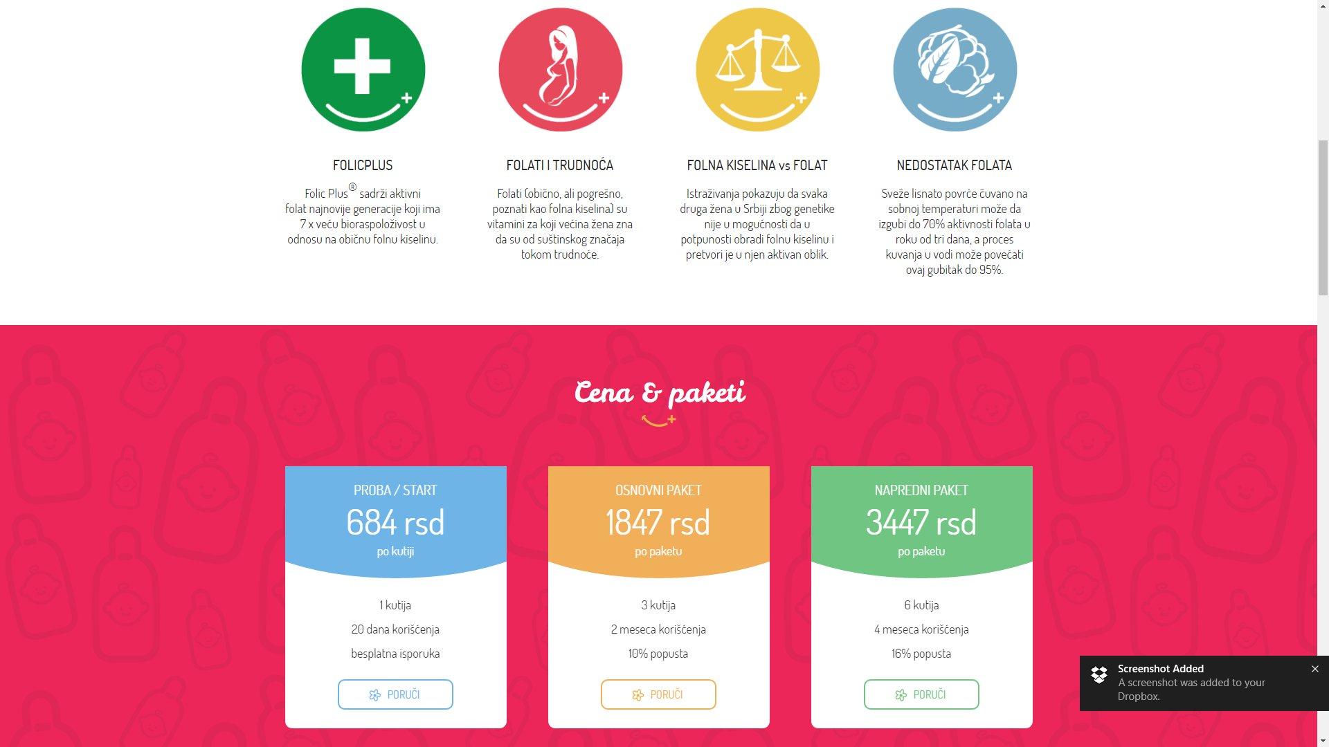 Folic Plus website - ss2