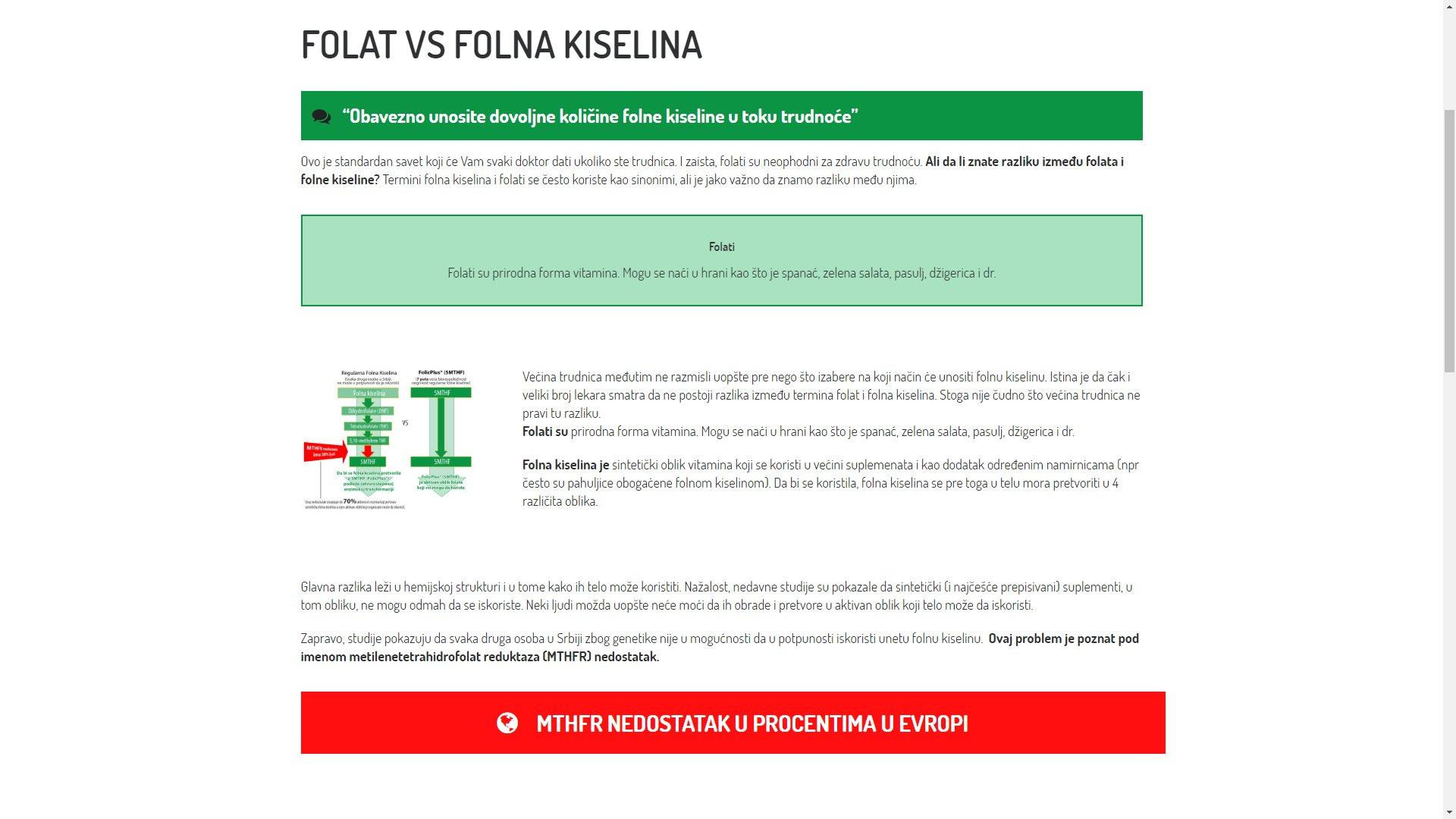 Folic Plus website - ss5